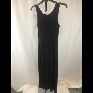NWT Ann Taylor small petite maxi black dress